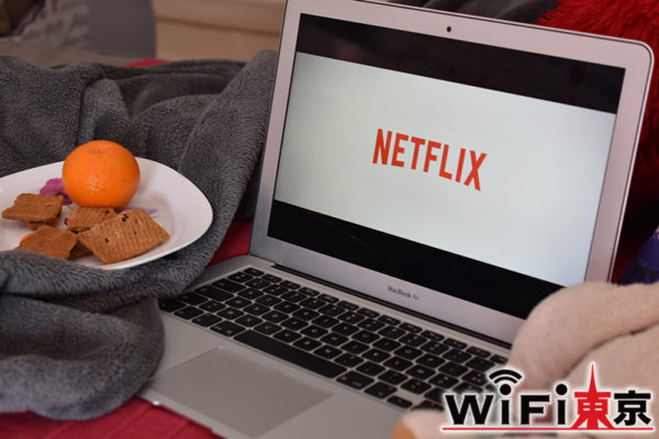 Netflixを視聴した際のデータ通信量は?| 視聴目安の時間を計算!