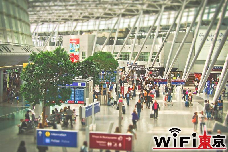 羽田空港で受取できる国内用Wi-Fiのレンタル|一時帰国におすすめ!無料で借りられる?